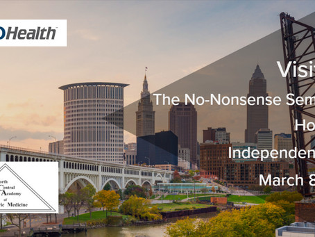 Visit NEMO Health at the No-Nonsense Seminar