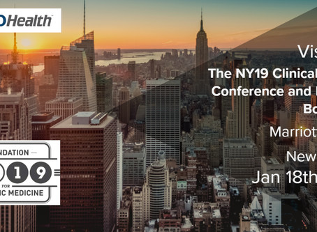 See NEMO Health At The NY19 Clinical Podiatry Conference