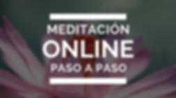 #meditación online #observador #intención #gratitud #aceptación #cursos online