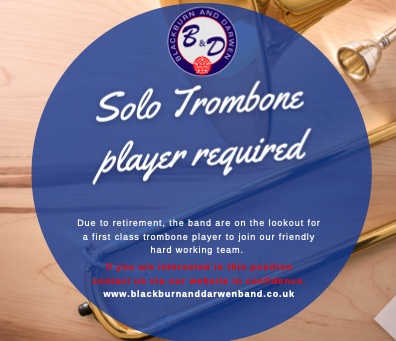 Solo Trombone Player required