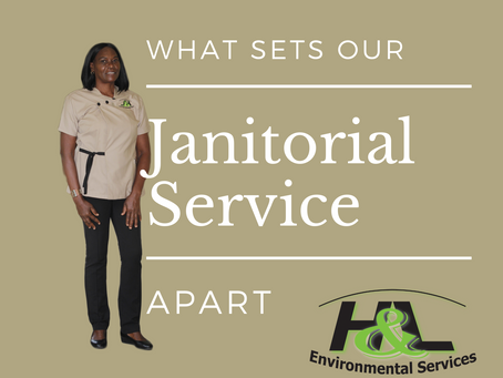 What Sets our Janitorial Service Apart