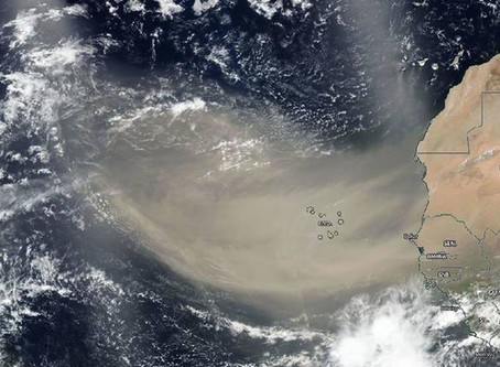 Saharan Dust Alert