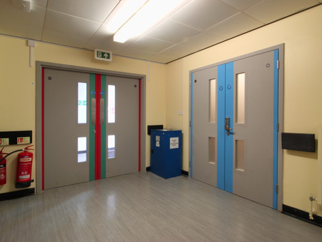 Lincolnshire NHS, Fire Doors