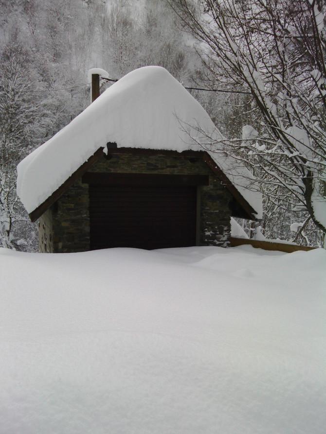 Un petit week end à la maison sous la neige