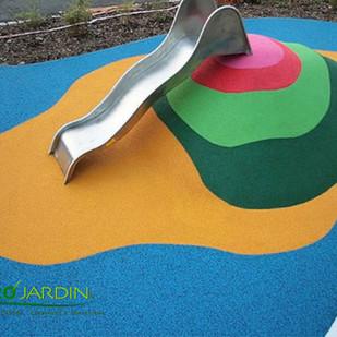 EPDM aire de jeux pour enfants