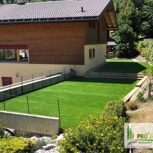 gazon syntétique 38 mm / pelouse artificielle_