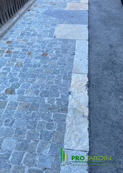 Traveaux paysagèrs Maçonneries Granite .