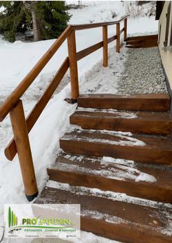 Escaliers en chêne