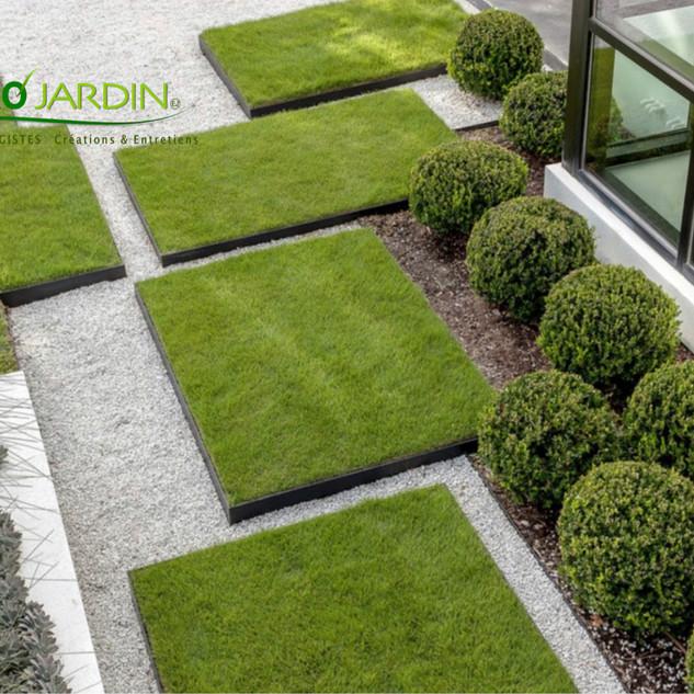 Jardin contemorain zen