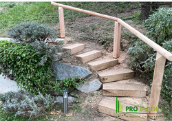Escalier de jardin
