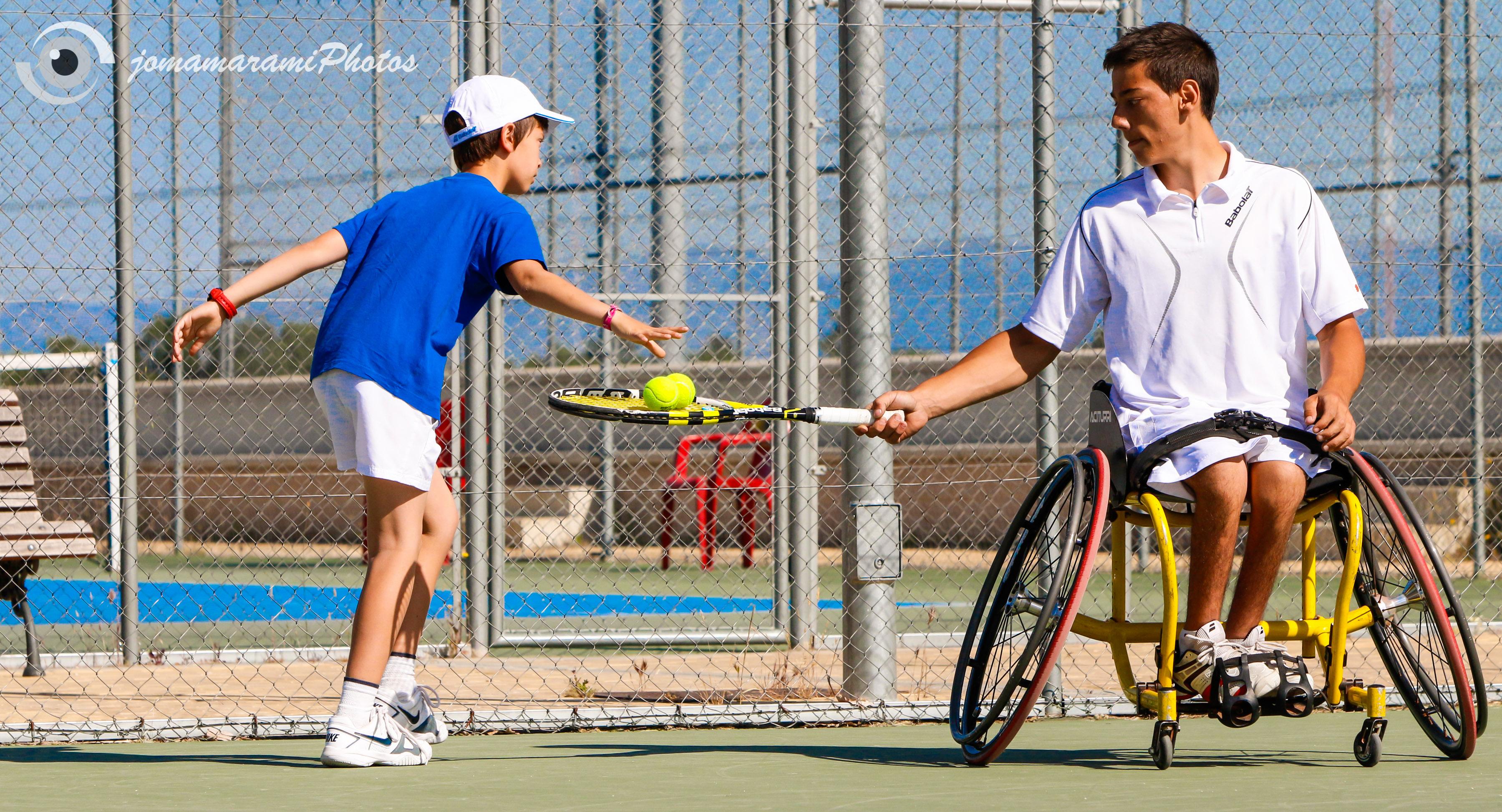 Tenis Silla Ruedas