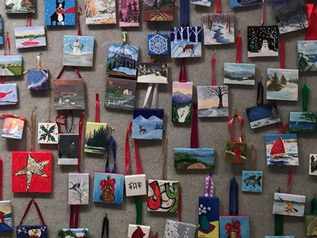 One Gift, Two Gift, Red Gift, Blue Gift – Arts Center Holiday Show Opens