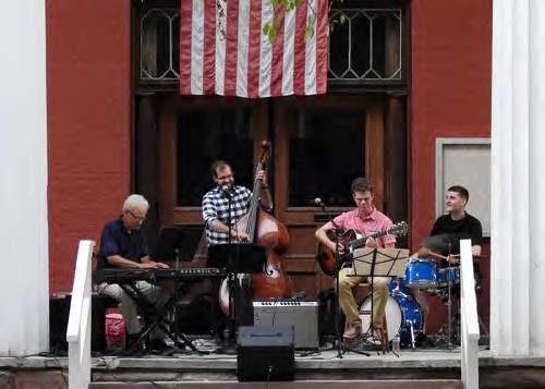 Rod Blumenau and the Dixieland Four Jazz Band, Penn Yan
