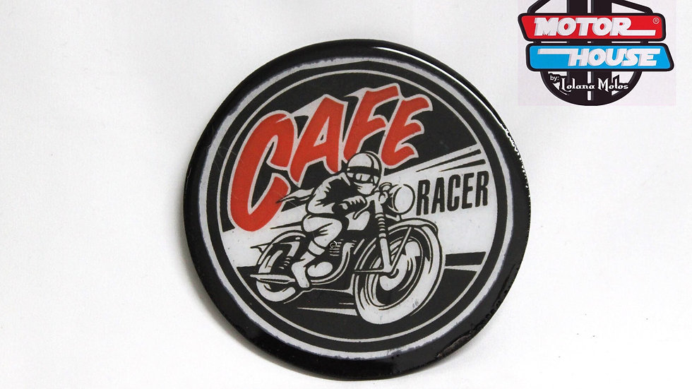 Porta Vaso Cafe Racer Redondo