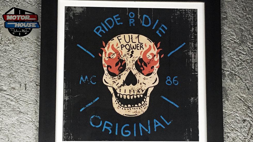 Cuadro Ride or Die