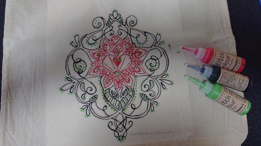 刺繍ペイントセット