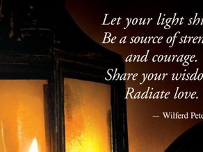 Let Your Light Shine, It Is Meant to Fulfill You and Guide Others