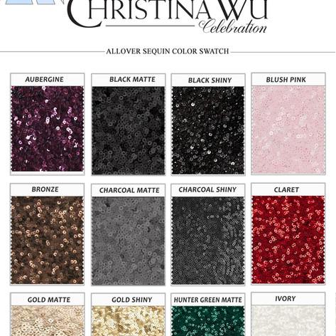 Christina Wu Sequins Swatch