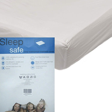 Sleep Safe Vinyl Waterproof Mattress Protector