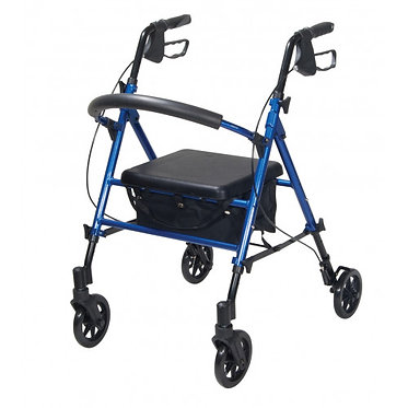 Aluminium Seat & Height Adjustable Rollator