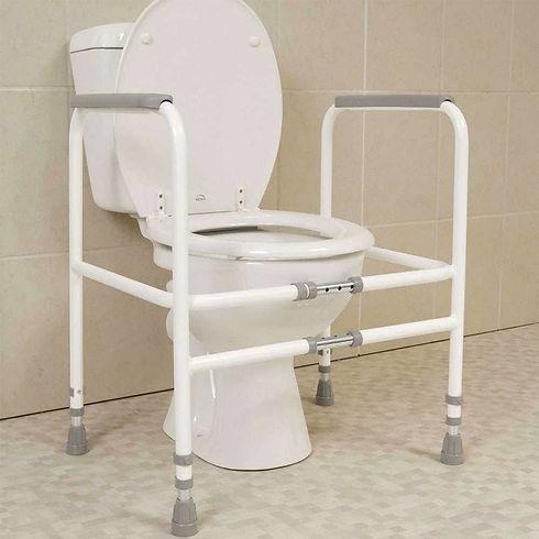 Width Adjustable Toilet Support Frame.jp