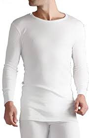 Mens Long Sleeve Thermal Vest