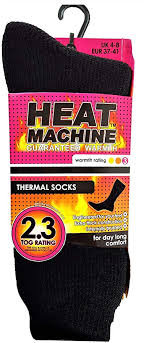 Ladies Heat Machine Thermal Socks