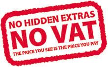 No VAT