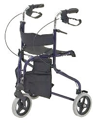 Tri-Walker with Seat