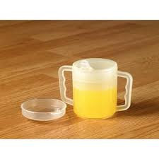 Shatterproof Mug with Lid - 2 Pack