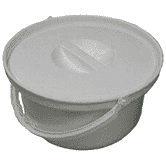 Spare Commode Bucket with Lid