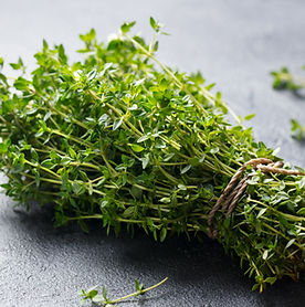 fresh-thyme-bunch-on-slate-background-cl