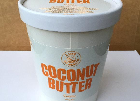 COCONUT BUTTER - GARLIC (800g)