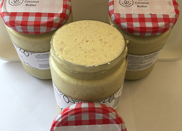 COCONUT BUTTER - GARLIC