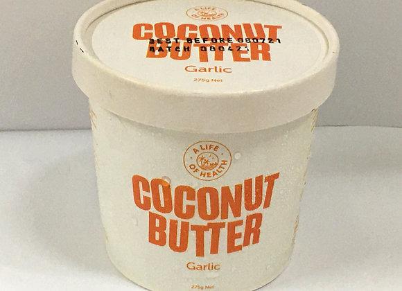 COCONUT BUTTER - GARLIC (275g)