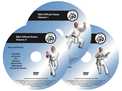 Kata DVD The Full Collection Volumes 1- 2- 3
