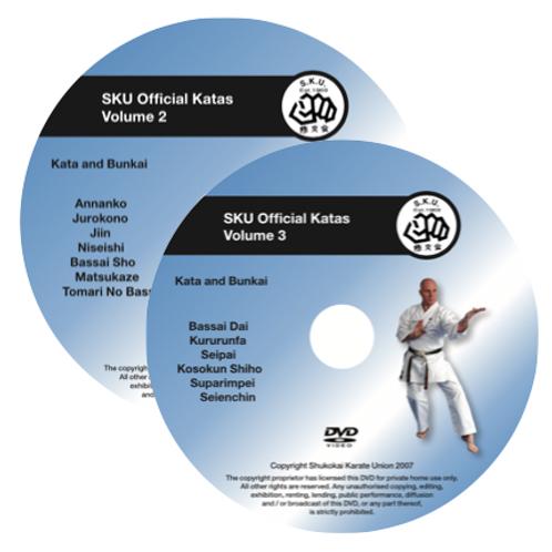 KATA DVD VOLUME 2 AND VOLUME 3