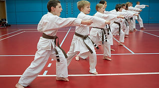 kids karate from 5 years