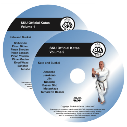 KATA DVD VOLUME 1 AND VOLUME 2