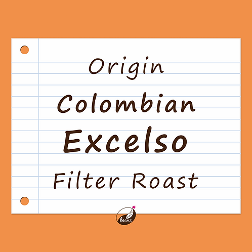 Colombian Medellin Excelso | Single Origin Coffee Beans | Dairy Beanz Coffee Roasters | New Zealand