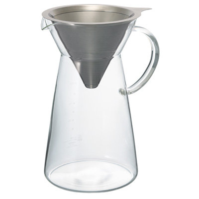 Hario Metal Drip Decanter | Coffee Brewing Gear | Pour Over | Dairy Beanz | New Zealand