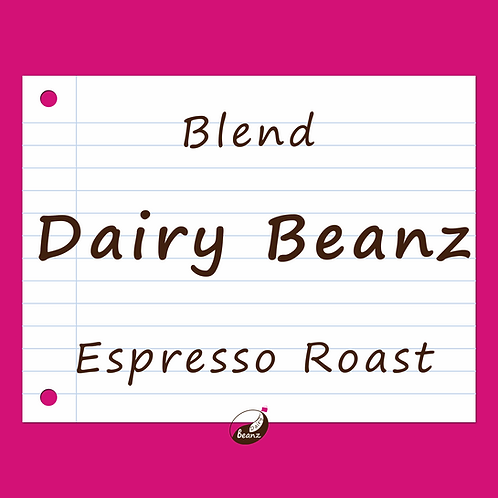 Dairy Beanz Signature Espresso Blend | Dairy Beanz Coffee Roasters | New Zealand