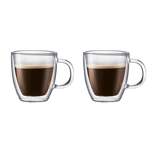 Bodum Bistro 2 pcs mug, double wall, 0.3 l, 10 oz | Dairy Beanz Coffee Roasters | New Zealand