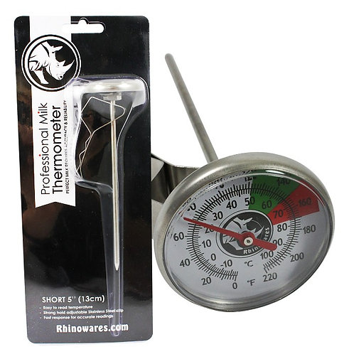 Rhinowares Short Thermometer | Dairy Beanz Coffee Roasters | New Zealand