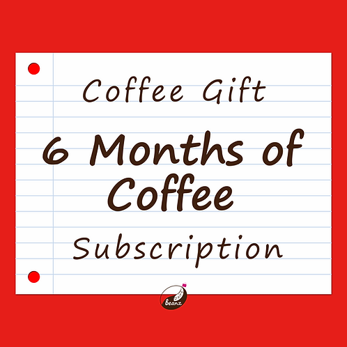 6 Months of Coffee Subscription   Holiday Gift Pack   Dairy Beanz Coffee Roasters   New Zealand