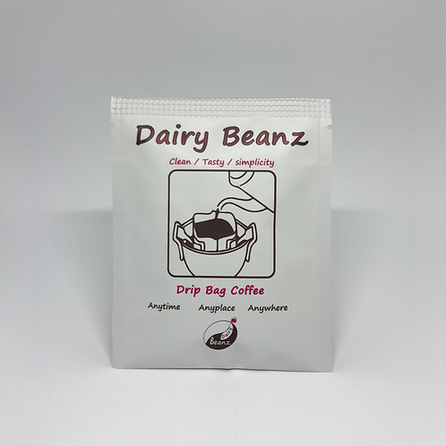 Drip Bag Coffee - A Box ( 8 Packs ) | No More Instant Coffee | Dairy Beanz | New Zealand