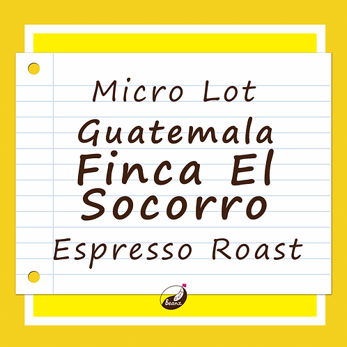 Finca EL Socorro Guatemala Single Origin Specialty Coffee Beans Dairy Beanz Coffee Roasters New Zealand