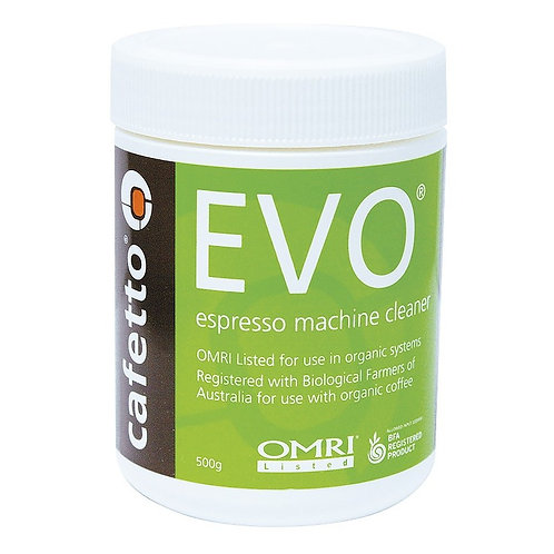 Evo - Cafetto 500g | Espresso Machine Cleaner | Dairy Beanz Coffee Roasters | New Zealand