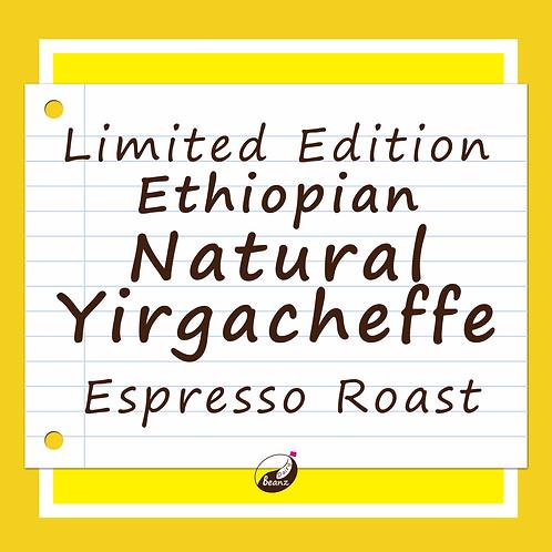 Natural Ethiopian Yirgacheffe Specialty Coffee Beans | Dairy Beanz Coffee Roasters | New Zealand