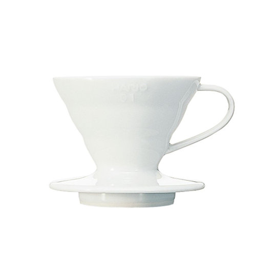 Hario V60 Ceramic Dripper - White | Dairy Beanz Coffee Roasters | New Zealand